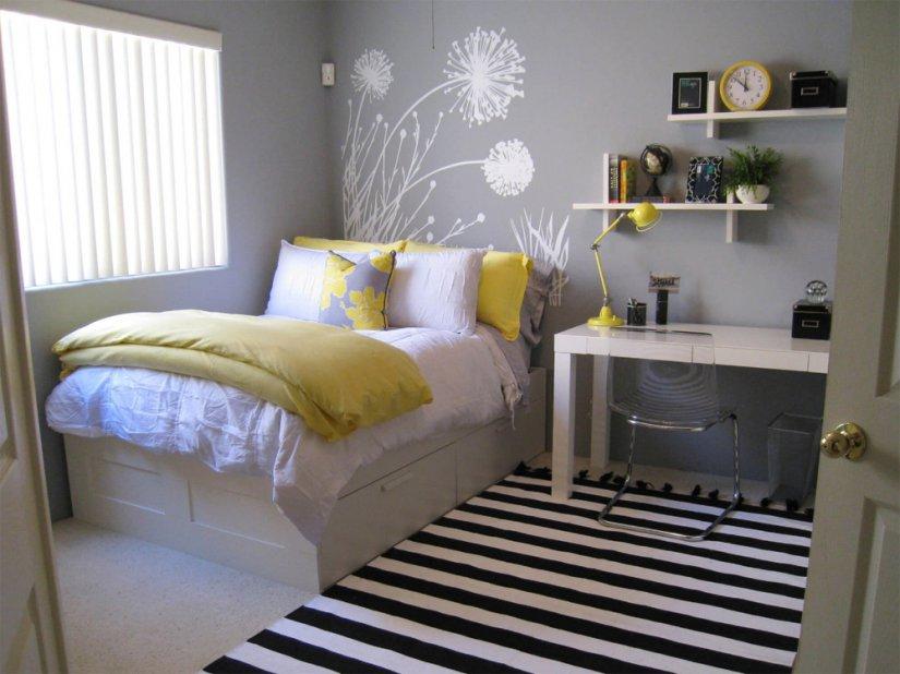 стиль и красота в детской спальни