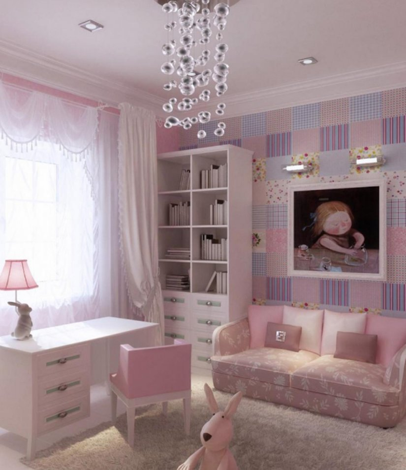 маленькая спальня для девочки