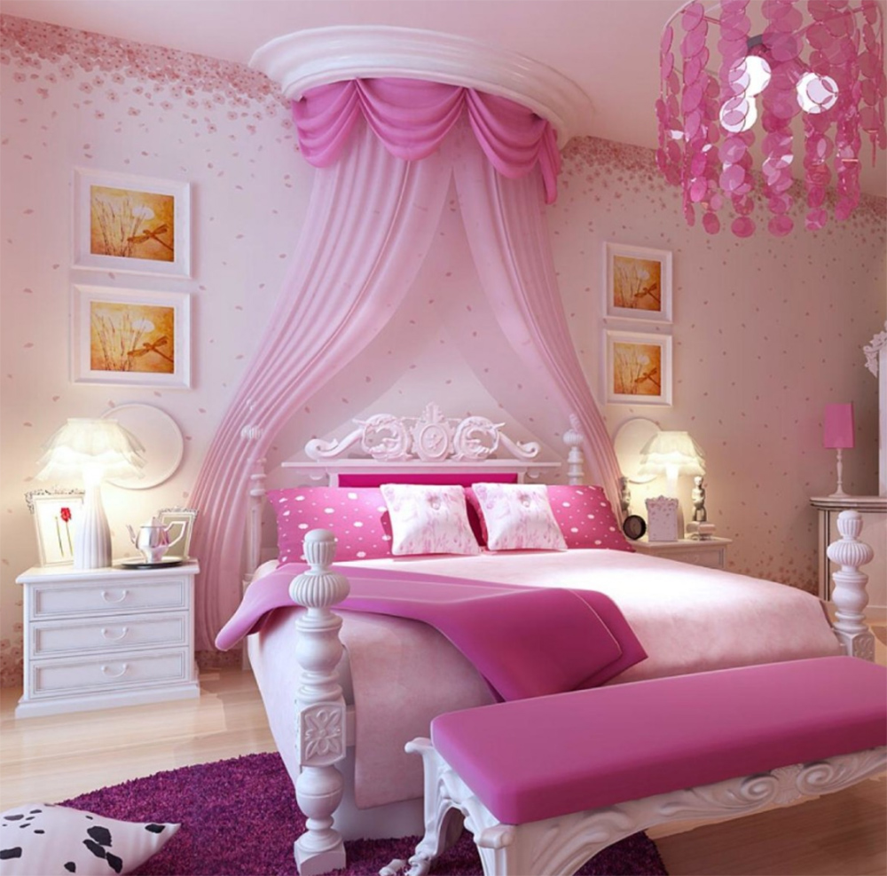 Розовая спальня – для барби и не только