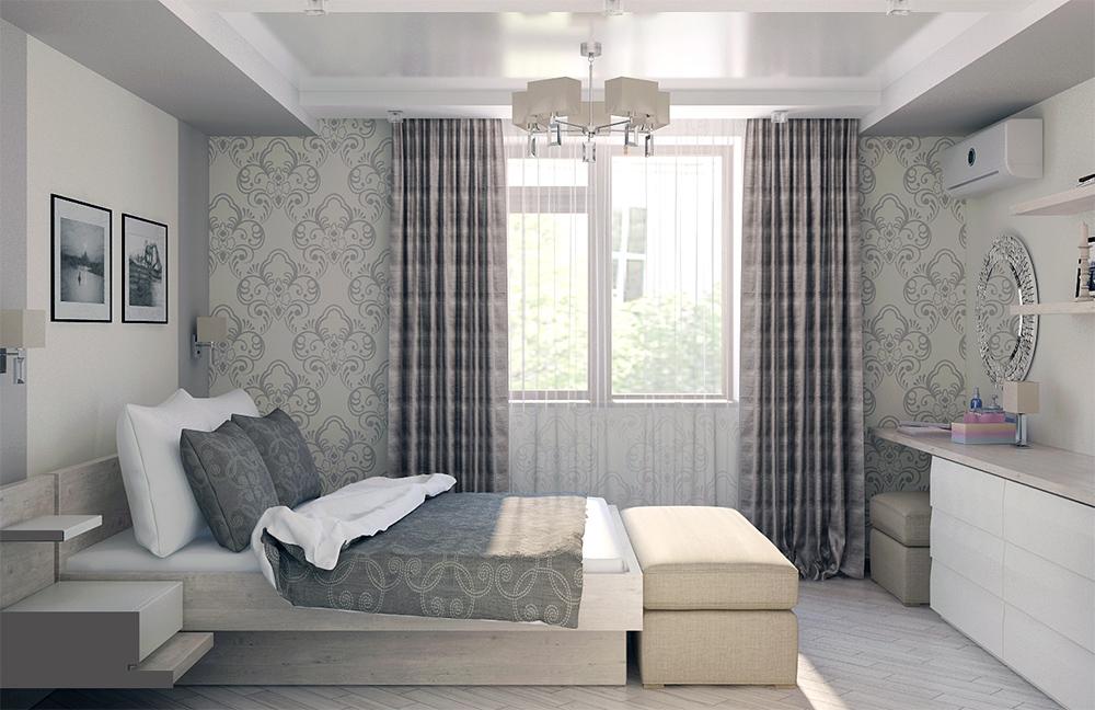 Дизайна комнаты в светлых тонах