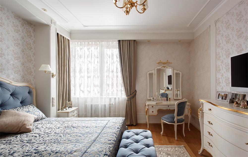 Спальня дизайн интерьера в светлых тонах фото